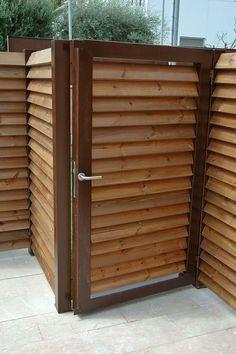 1000 images about puertas de acero corten on pinterest - Acero corten ...