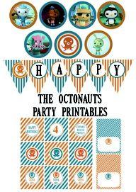 Free Octonauts party printables