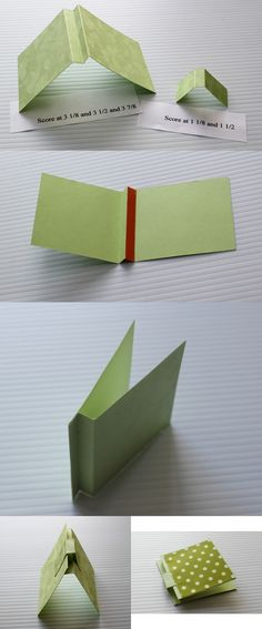Post-it notepad holder
