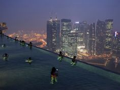 Infinity Pool, Marina Bay Sands, Singapore