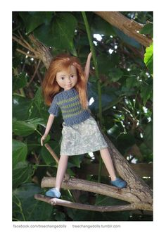 TreeChangeDolls.com This dolly is my favorite TCD. But then, they are all so cute!