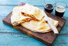 My Cookbook, Calzone, Naan, Ethnic Recipes, Food, Quesadillas, Baking, Quesadilla, Essen