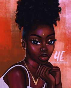 Funny Art Pictures Artworks 21 Ideas For 2019 Black Art Painting, Black Artwork, Black Love Art, Black Girl Art, Drawings Of Black Girls, Girl Drawings, Black Girl Cartoon, Black Art Pictures, Funny Pictures