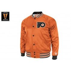 1c69d23713a Injury Report Satin Jacket Philadelphia Flyers Mitchell   Ness Nostalgia Co.