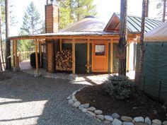 Gallery - Illinois River Luxury Yurts, So. Oregon, USA