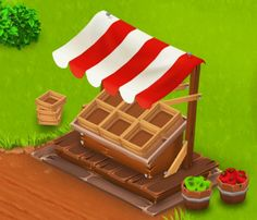 The roadside shop is a structure given to all players at the beginning of the game. Hay Day, Trunk Or Treat, Something To Do, Treats, Party, Shopping, Game, Gaming, Ideas