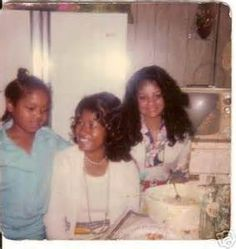 Janet, Katherine and Latoya Jackson