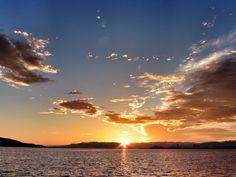 31 July 5:40 博多湾  #sunrise です。 #fukuoka ( Morning Now at Hakata bay in Japan )