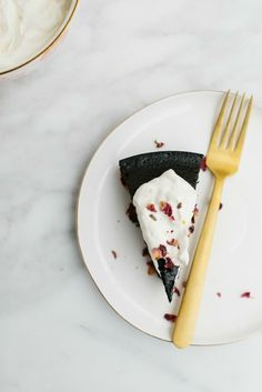 Dark Chocolate Olive Oil Cake | The Vanilla Bean Blog