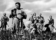 The Seven Samurai. Just watched this epic film again after many years. I had forgotten what a masterpiece it was. Black and white, grainy film and crackly soundtrack but still knocks sparks off some of the so called blockbusters out today.