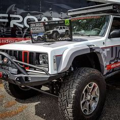 What are you up to this weekend? We think we'll build a mini Jeep Xj Mods, Jeep Suv, Jeep Cars, Jeep Truck, Cherokee Sport, Jeep Grand Cherokee, Jeep Bumpers, Rc Crawler, Cool Jeeps
