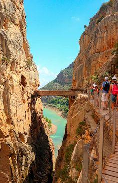 El Caminito del Rey y otras pasarelas sobre ríos más espectaculares de España - Foto 10