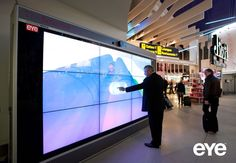 Interactive Monster Wall - an intelligent digital signage display from Monster Media
