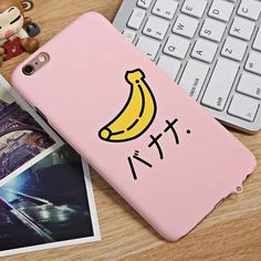 Banana Strawberry Watermelon Fruit Pattern Case Back Cover For Apple iPhone 6 6S Plus Japan Style Matte Hard PC Cell Phone Coque