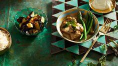 Garam masala and coconut chicken recipe : SBS Food Coconut Chicken, Baked Chicken, Recipe Chicken, Indian Food Recipes, Asian Recipes, Ethnic Recipes, Asian Foods, Chicken Pieces Recipes, Massaman Curry Paste