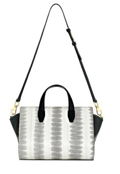 Practical, clean and chic. Pelican Leather and Snakeskin Tote from Alexander Wang is a must have bag.