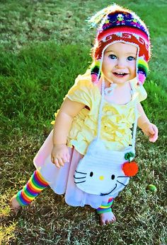 I'm not even a big fan of babies but if I had a child, this is how I would dress her!  :)   Click image to find more Women's Fashion Pinterest pins
