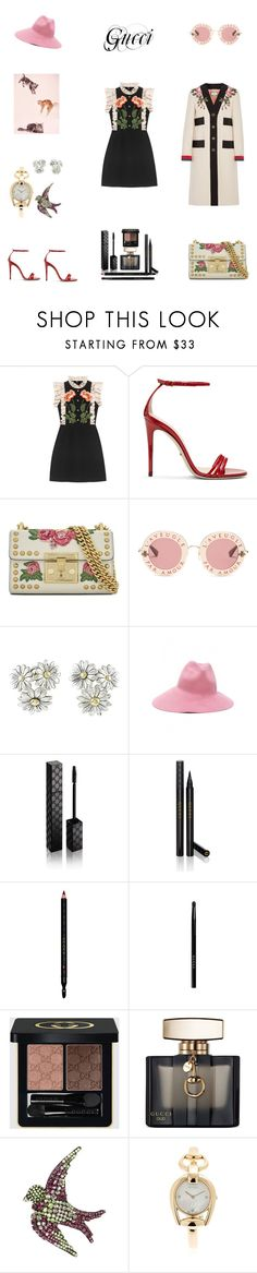 """Untitled #18"" by tatuli-togoxia ❤ liked on Polyvore featuring Gucci"