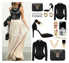 """""""Spring Formal"""" by by-jwp ❤ liked on Polyvore featuring Melinda Maria, Chanel, Yves Saint Laurent, Kendra Scott and Givenchy"""