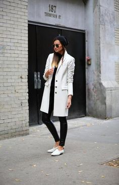 50 Chic Black and White Outfits to Wear Now | StyleCaster