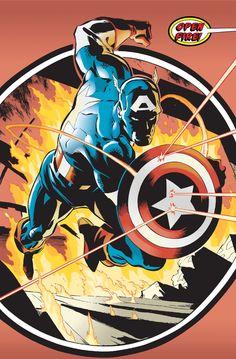 Captain America by Ron Garney