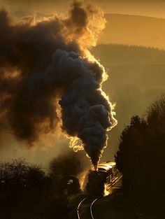Steam train.  #locomotive #steam #trains