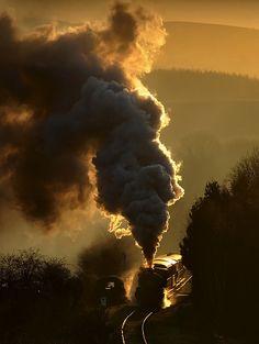Steam train.  #locomotive #steam #trains