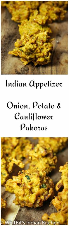 Mixed vegetable pakoras, a popular Indian snack and appetizer. Delicious with chutney! Indian Appetizers, Indian Snacks, Indian Food Recipes, Asian Recipes, Appetizer Recipes, Pakora Recipes, Curry Recipes, Vegetarian Recipes, Cooking Recipes