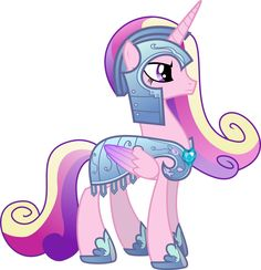 Princess Cadance in Royal Armor by memershnick.deviantart.com on @deviantART