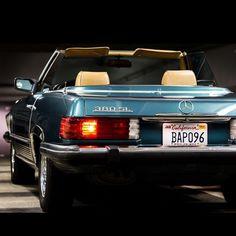 Summer + California + My Girl + Mercedes Benz 380SL = Dream