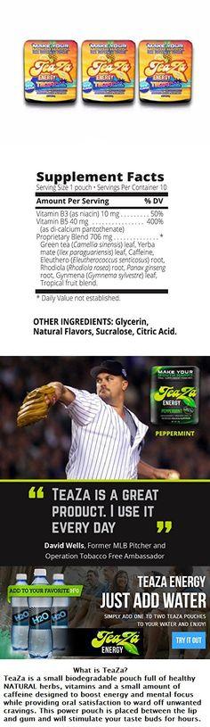 Teaza Tropical flavor 3 Pack