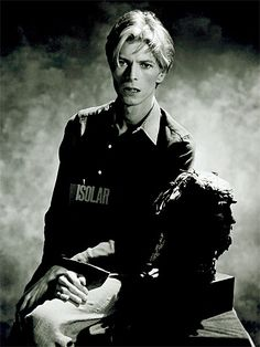 1975 Kelly Isolar - David Bowie Photos