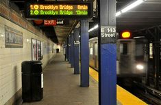 E 143 Street station...