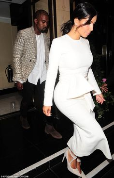 Power couple: Kimye, as the pair are collectively known, have become a force to be reckoned with since their friendship turned romantic