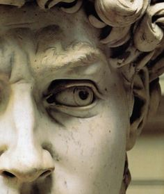 Love the detail around the eye and the frown lines. A good example of the advanced skill of ancient Greek sculptures
