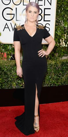 Kelly Osbourne in Escada and H.Sterm jewels at The 2014 Golden Globes