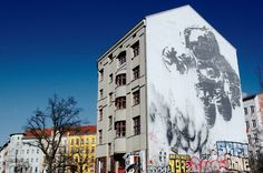 doen street art kijken in belleville parijs. Black Bedroom Furniture Sets. Home Design Ideas