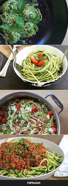 The Best Zoodle Inspiration For Your Low-Carb Pasta Fix