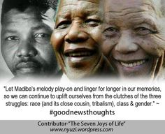 Mandela's Melody For Your Own Practice
