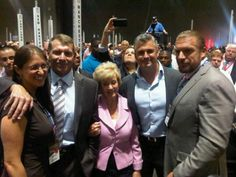 The whole family at the Connecticut GOP Convention. Linda Mcmahon, Shane Mcmahon, Wwe Divas Stephanie Mcmahon, Mcmahon Family, George Santayana, Triple H, Wwe Wrestlers, Wwe Superstars, Love Story