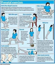pregnancy exercise is a must