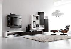 Sala de TV - http://www.dicasdecoracao.com/sala-de-tv/