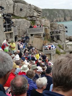 Minack audience