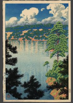 Kawase Hasui: Akita - Karasunuma Swamp - Japanese Art Open Database