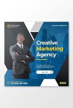 Corporate digital marketing agency social media post#pikbest# Cover Template, Social Media Design, Banner Design, Digital Marketing, Templates, Learning, Black Friday, Grief, Cape Pattern