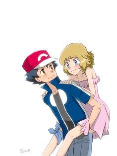 Pokemon Ash And Serena, Ashes Love, Ash Ketchum, Disney Characters, Fictional Characters, Comics, Disney Princess, Selena, Art