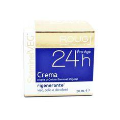 Crema 24h dall'azione rigenerante con cellule Staminali Vegetali  Viso, Collo e Decolletè