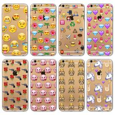 Cute Phone Case For Apple iPhone 7 6 6s 5 5S SE 7Plus 6Plus 4 4S Cases Cover Transparent Silicon Monkey Emoji Mobile Phone Bag #clothing,#shoes,#jewelry,#women,#men,#hats,#watches,#belts,#fashion,#style