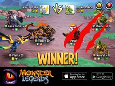 I rule at the Monster Legends Arena! If you dare to challenge me, start collecting monsters! http://www.monsterlegendsgame.com/referral/?uid=4cecc520