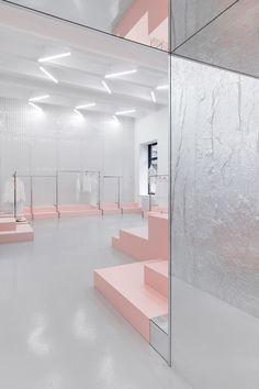 Architecture & Interior Design: Blushhh! Secret Shop